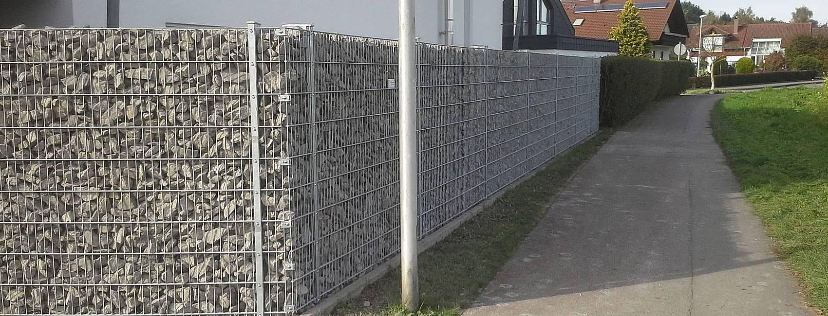 Zaun Belles Zaunbau Zaunmontage und Reperatur Sichtschutz
