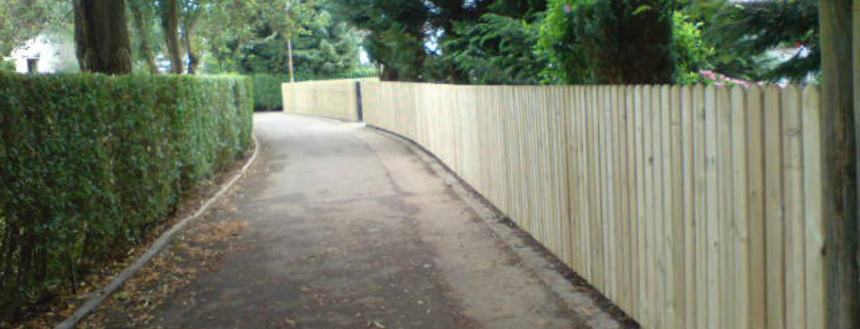Sichtschutz Holz Querlattung ~ Zaun Belles  Zaunbau  Zaunmontage und Reperatur  Holzzaun